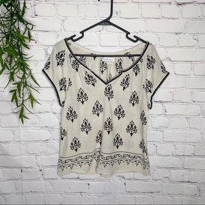 Velvet Graham & Spencer silk / cotton top small